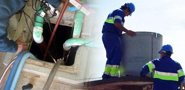 Succi n de pozo s ptico limpieza de pozos limpieza y for Limpieza de pozos de agua